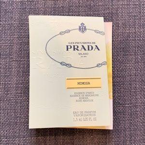 Prada Mimosa Sample Fragrance New